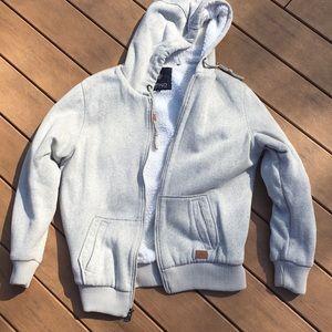NWOT Fleece hoodie